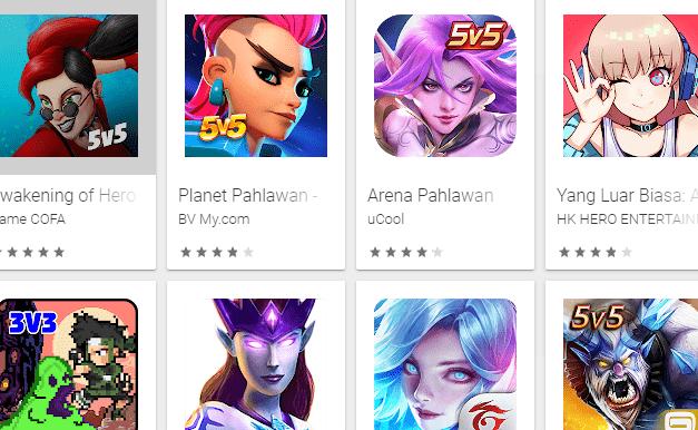 Game Offline Mirip Mobile Legends Terbaik