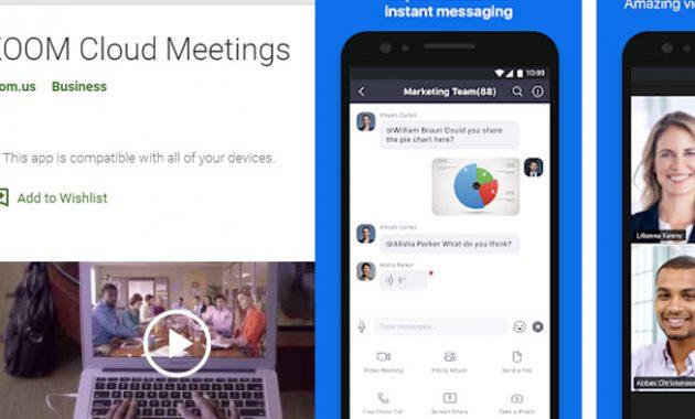 Aplikasi Zoom Cloud Meeting Terbaru + Cara Menggunakannya