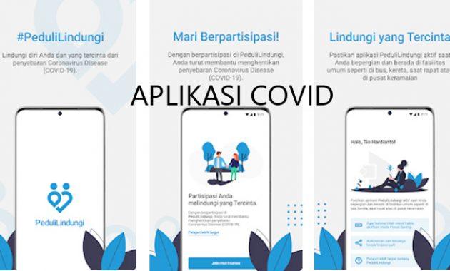 Aplikasi Covid PeduliLindungi