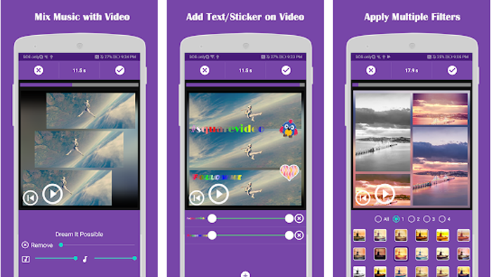 Mengenal aplikasi video Bokeh square video