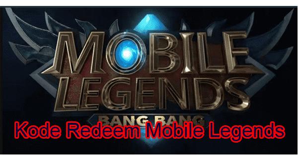 Kode Redeem Mobile Legends ML September 2020