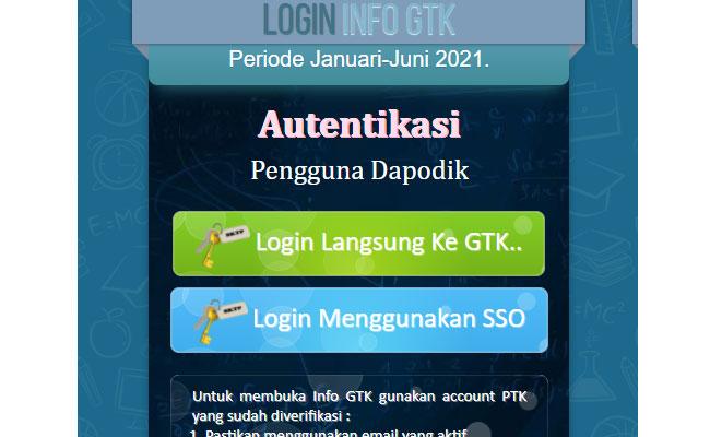 cara cek info gtk dengan cepat tanpa login ke SIM PKB