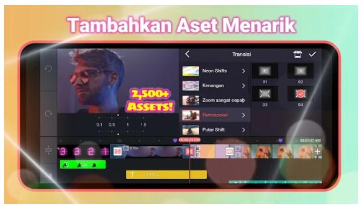 Aplikasi Vcut Pro - Slideshow Maker Video Editor With Songs